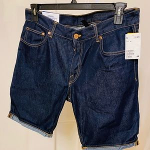 Slim Fit Summertime Jean Shorts.